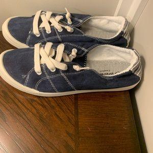 Navy Forever Link Comfort Slip on Sneakers